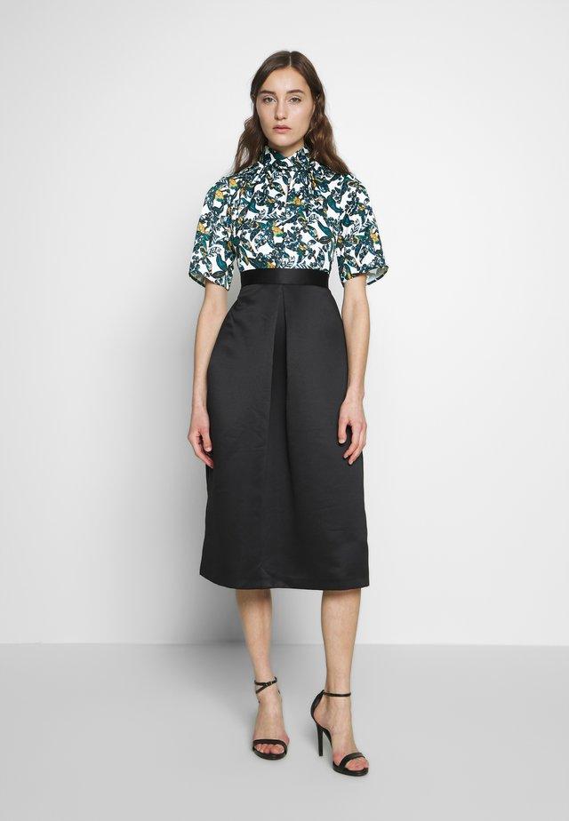 CLOSET GOLD TWIST COLLAR DRESS - Cocktail dress / Party dress - black