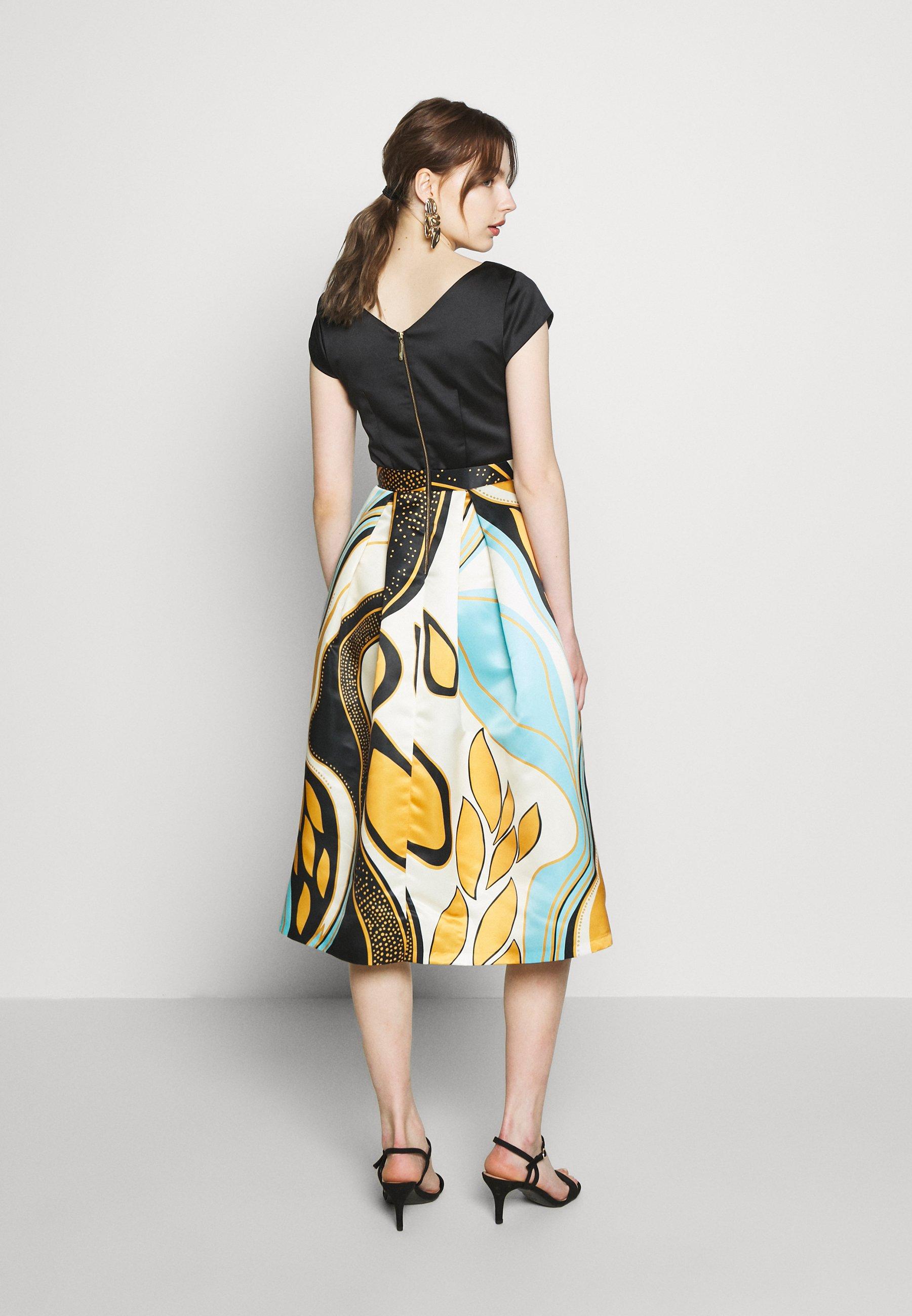 Closet CLOSET FULL SKIRT DRESS - Sukienka letnia - mustard
