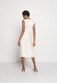 Closet - CLOSET PLEATED A-LINE DRESS - Vestito estivo - beige - 2