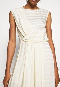Closet - CLOSET PLEATED A-LINE DRESS - Day dress - beige - 5