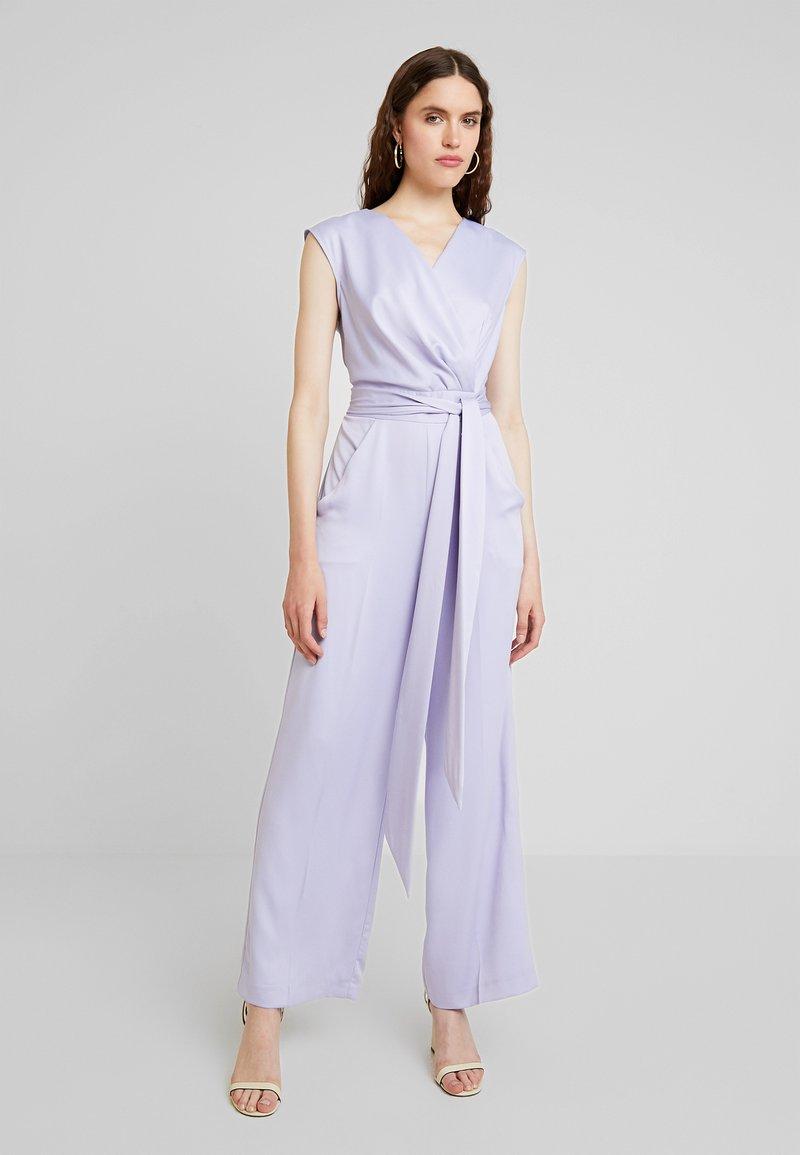 Closet - CLOSET PLEATED WRAP  - Jumpsuit - lavender