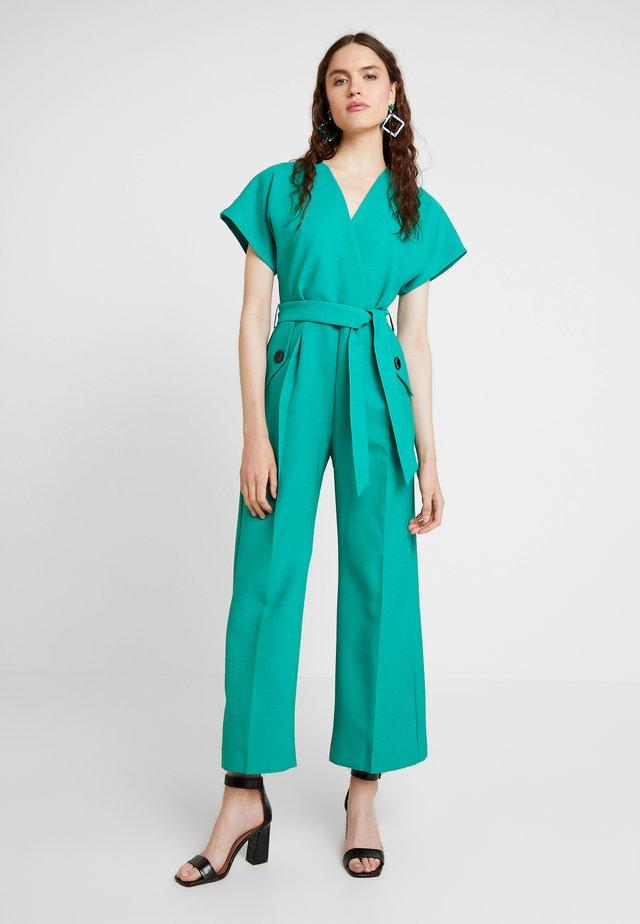 KIMONO WRAP - Jumpsuit - green