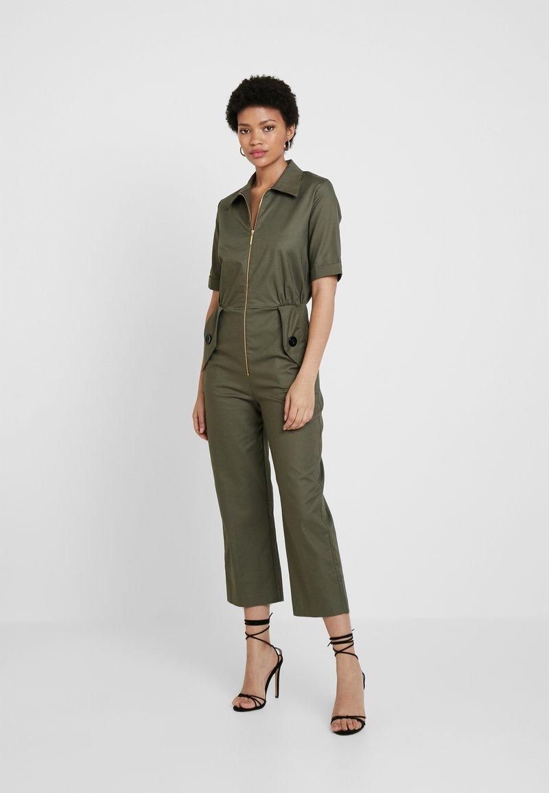 Closet - SHORT SLEEVE BOILER - Tuta jumpsuit - olive