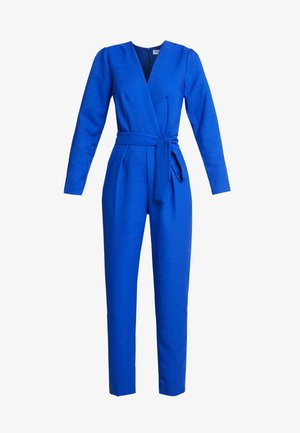 LONG SLEEVE CROSSOVER - Tuta jumpsuit - cobalt