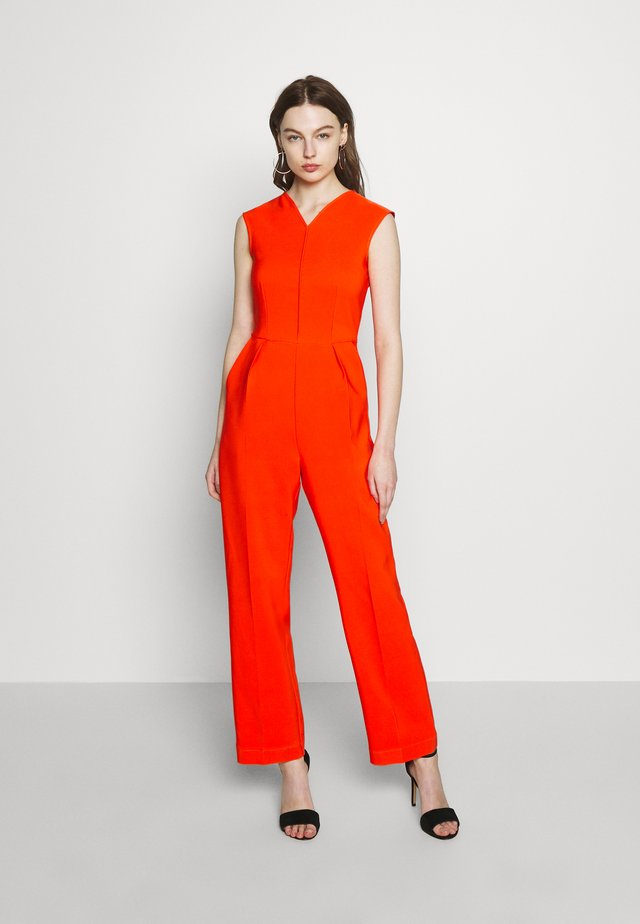 SLEEVELESS VNECK - Jumpsuit - orange