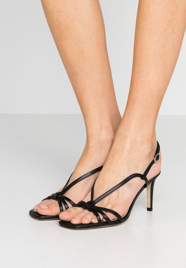 AMOUREUSEE - Sandals - noir