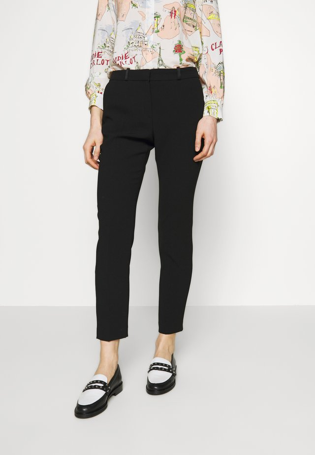POULINH - Pantalon classique - noir