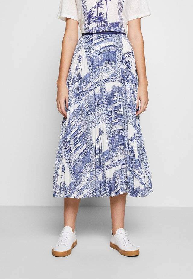 SURFE - Pleated skirt - clair
