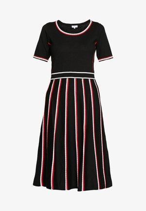 MOTOE - Strikket kjole - multicolor