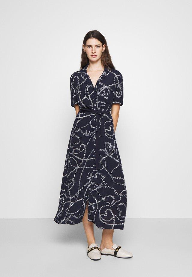 Skjortklänning - marine
