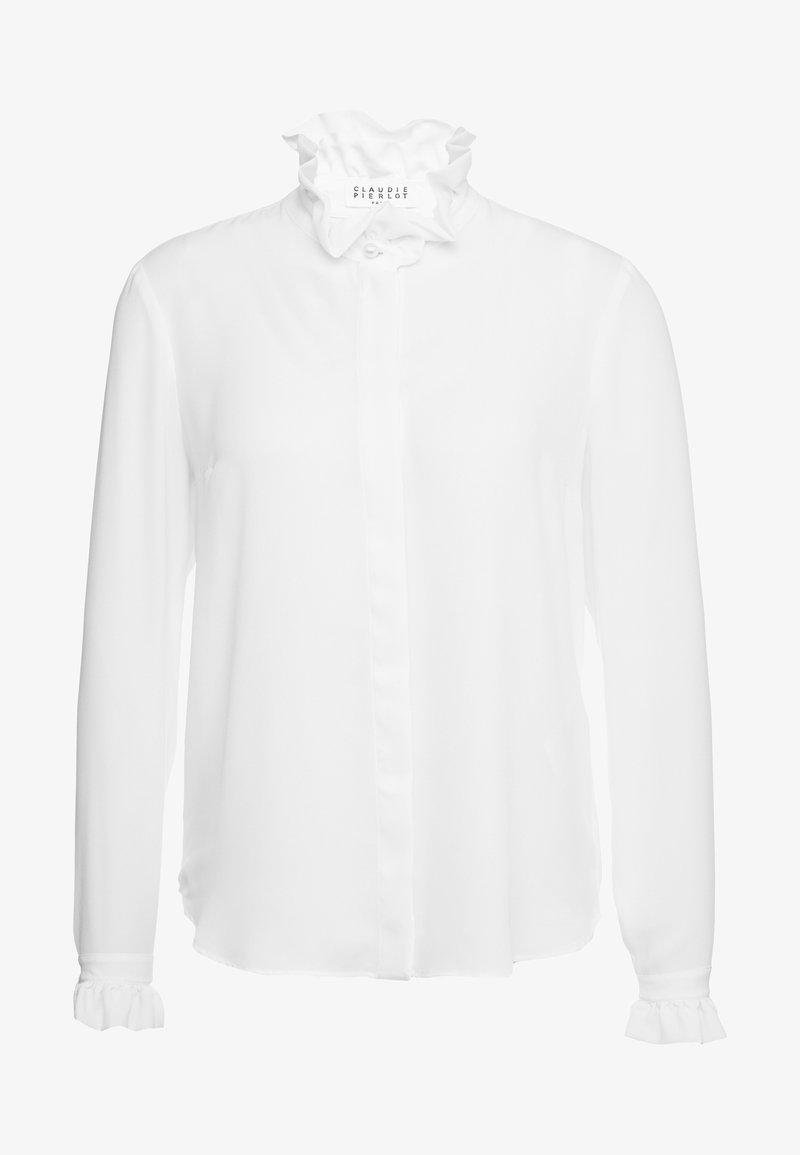 Claudie Pierlot - COLOMBEFLOUBIS - Button-down blouse - ecru