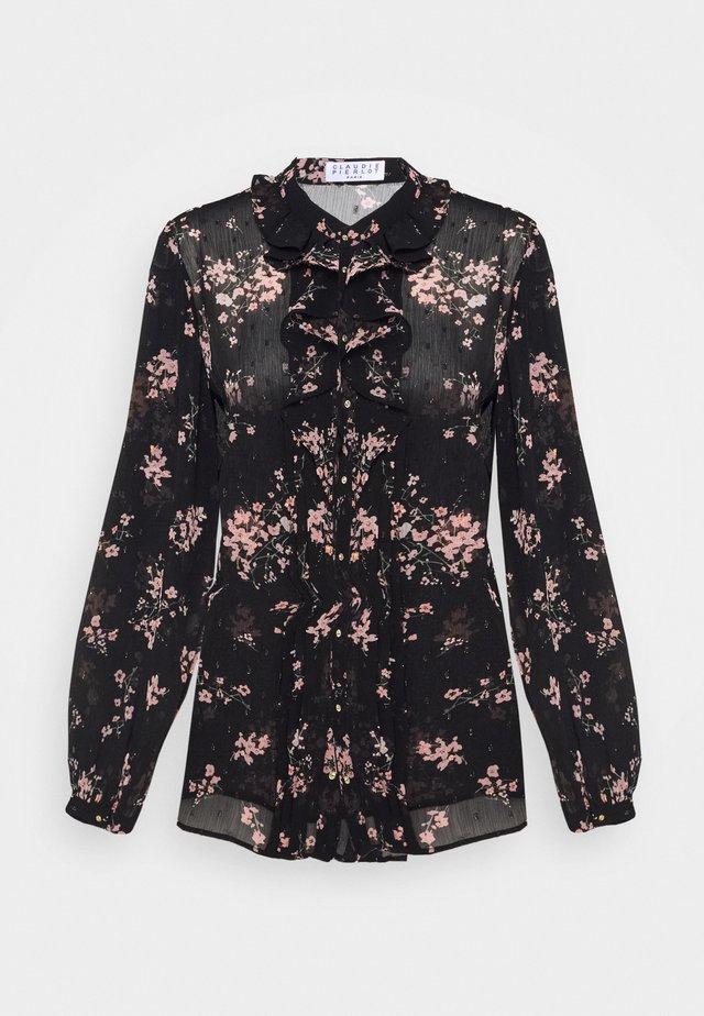 CERFEUIL - Bluser - black/rose