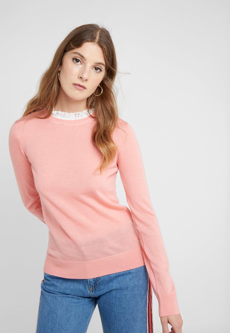 Claudie Pierlot - MIRAGE - Stickad tröja - rose peche