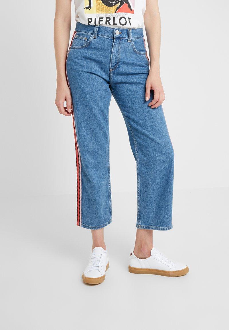 Claudie Pierlot - PRISCA - Jeans Straight Leg - blue denim