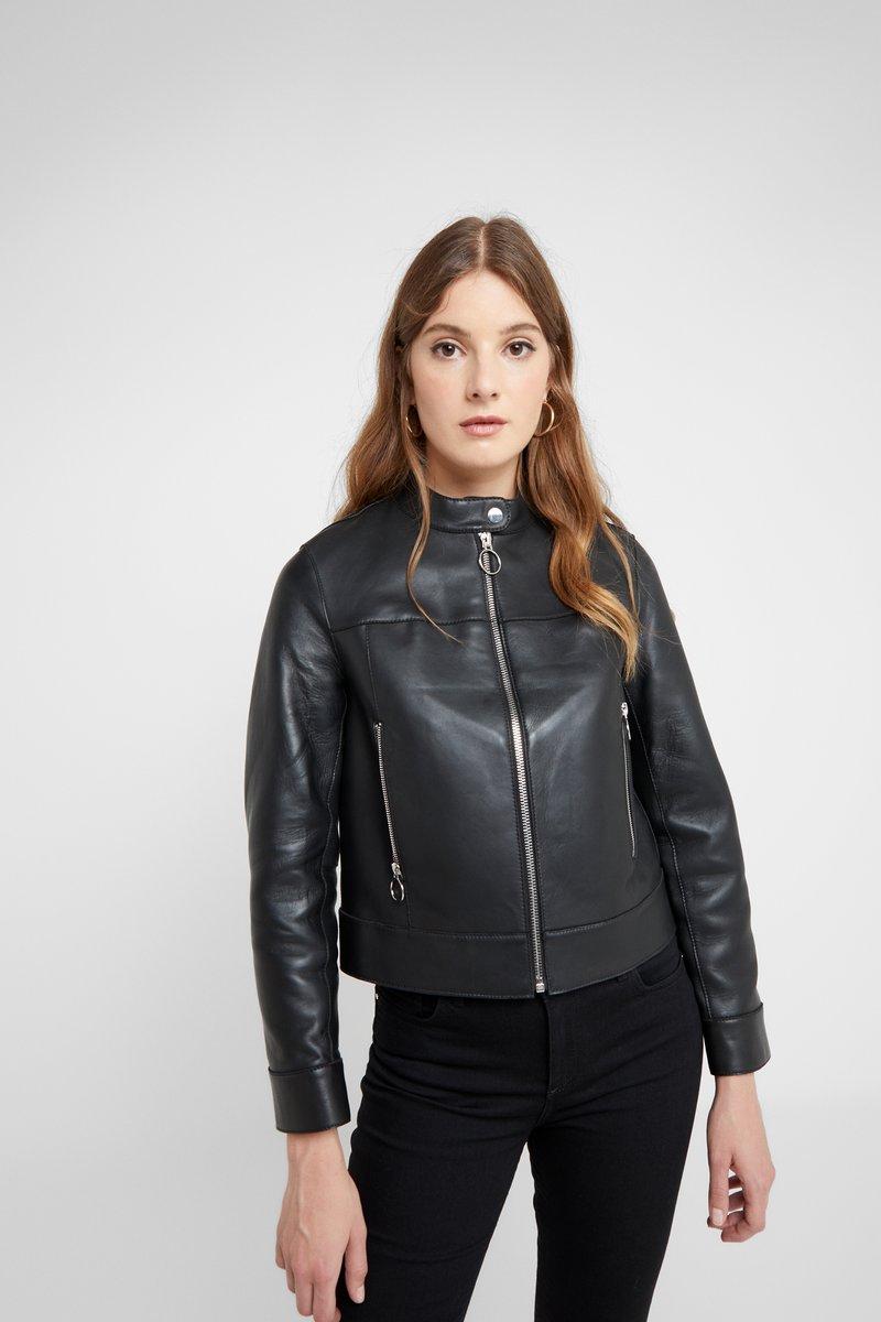 Claudie Pierlot - COSMO - Lederjacke - noir