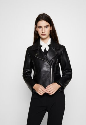 CAISAE - Leather jacket - noir