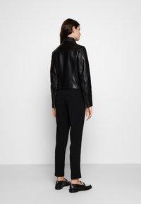 Claudie Pierlot - CAISAE - Leren jas - noir - 2