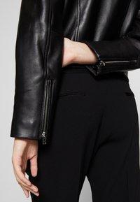 Claudie Pierlot - CAISAE - Leren jas - noir - 6