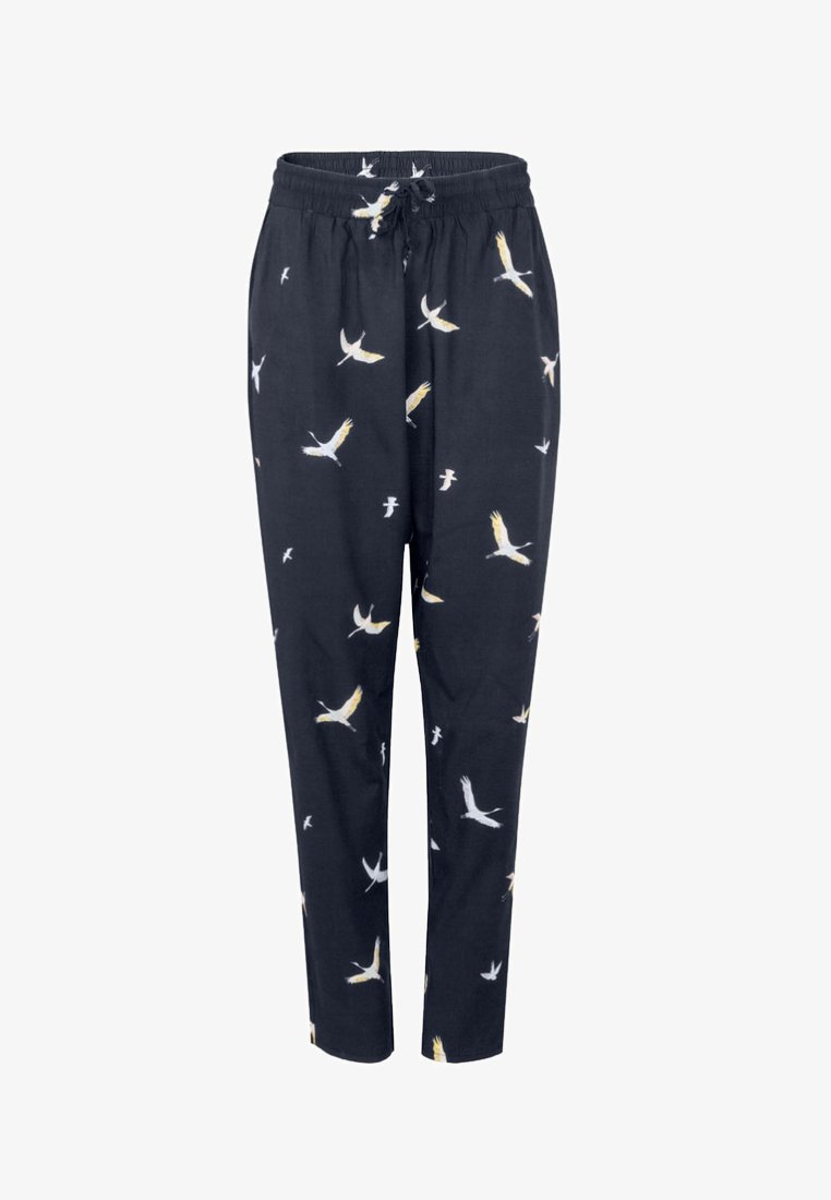 Cleptomanicx - LOVE - Trousers - mottled black