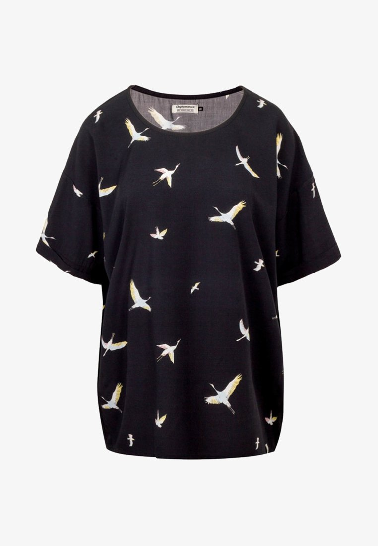 Cleptomanicx - T-Shirt print - mottled black