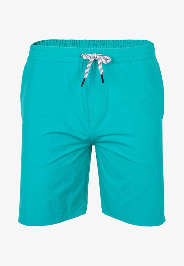 Cleptomanicx - Shorts - turquoise
