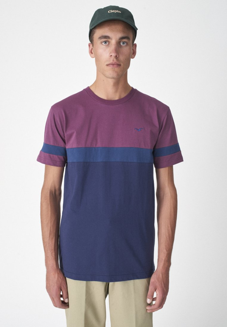 Cleptomanicx - Print T-shirt - purple