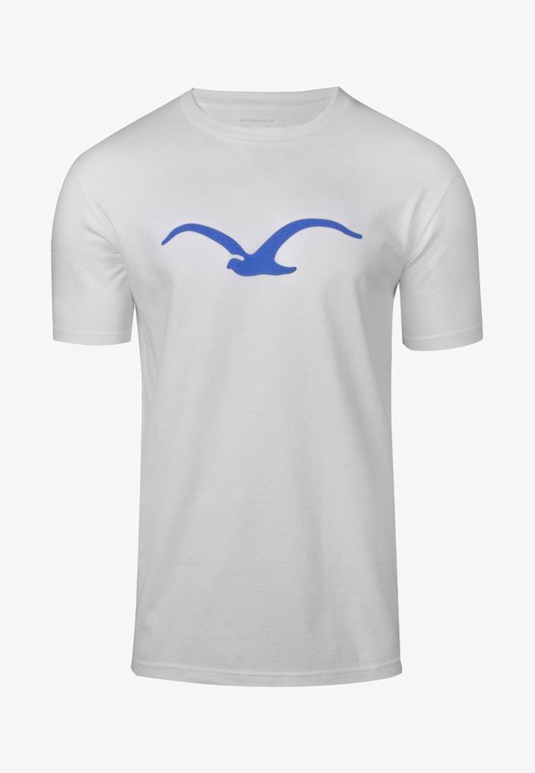 Cleptomanicx - MÖWE - Print T-shirt - white
