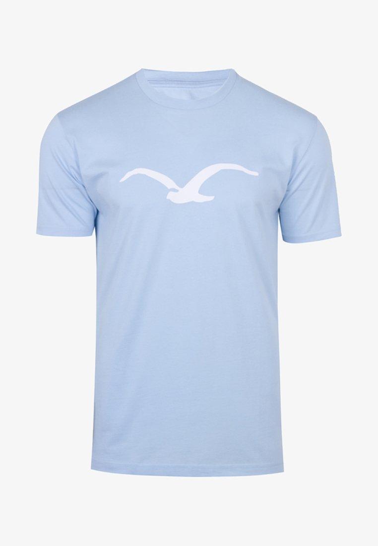 Cleptomanicx - MÖWE - T-Shirt print - light blue