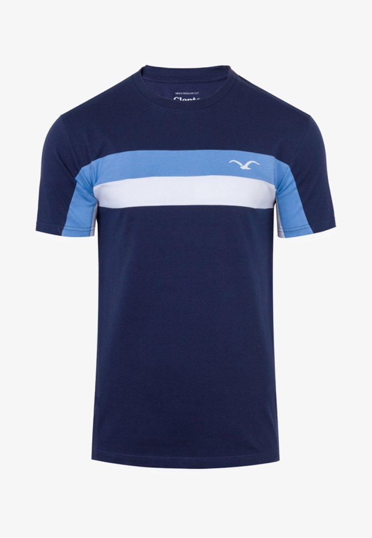 Cleptomanicx - FASTER - T-Shirt print -  blue