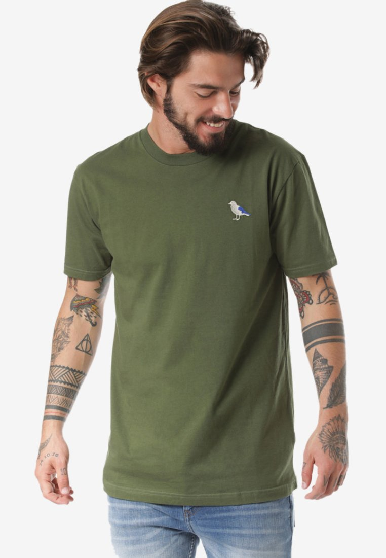 Cleptomanicx - Basic T-shirt - green