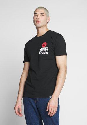 CLEPTOLYMPICX - Print T-shirt - black