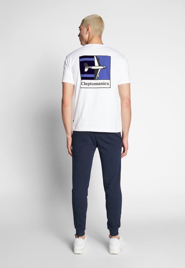 PLANE - T-shirt print - white