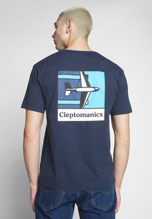 PLANE - T-shirt med print - dark navy