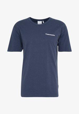 PLANE - Print T-shirt - dark navy