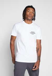 Cleptomanicx - LIGHT CLUB - Print T-shirt - white - 2