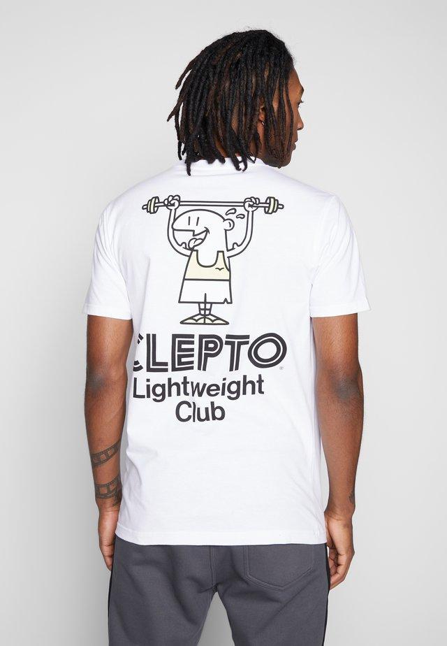 LIGHT CLUB - T-shirt print - white