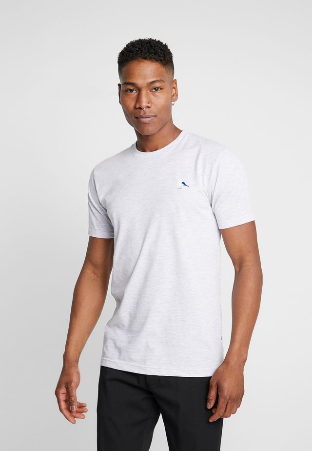 EMBRO GULL - Basic T-shirt - light heather gray