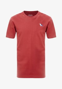Cleptomanicx - EMBRO GULL - Basic T-shirt - rosewood - 3