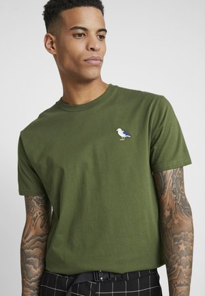 EMBRO GULL - Basic T-shirt - rifle green