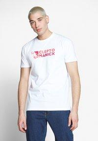 Cleptomanicx - DO NUT GULL - Print T-shirt - white - 0