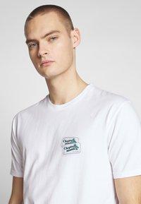 Cleptomanicx - GULLCOASTER - Print T-shirt - white - 3
