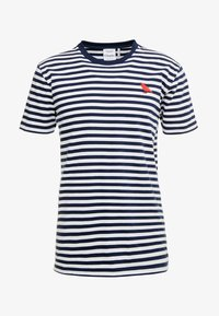 Cleptomanicx - STRIPE - Print T-shirt - navy - 5