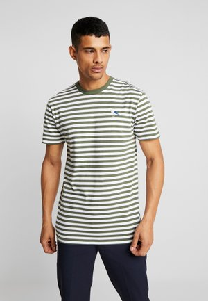 STRIPE - Print T-shirt - rifle green