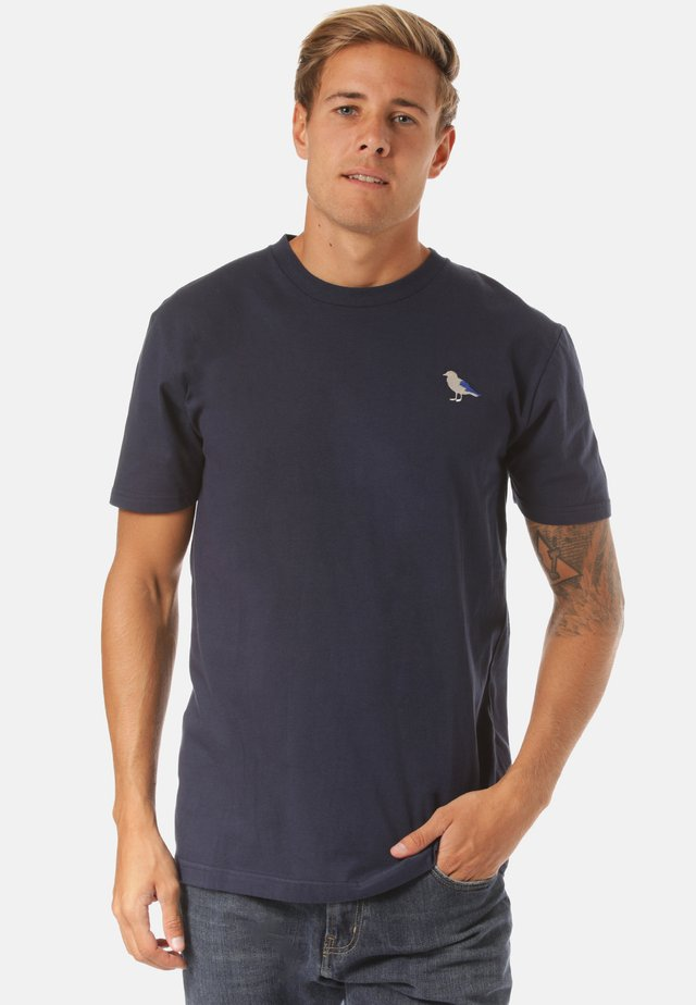 EMBRO GULL - Print T-shirt - blue