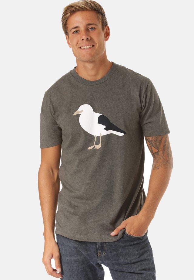 GULL - T-shirt print - green