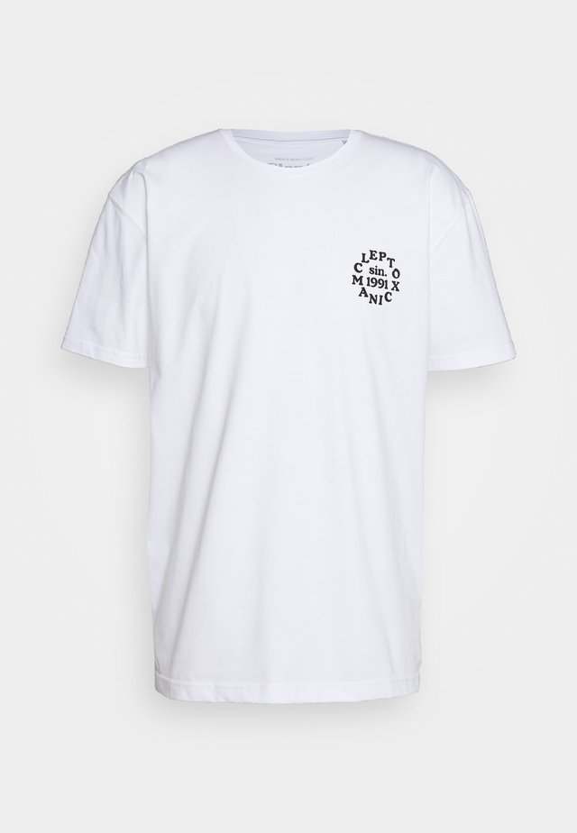 CLUB - T-shirt z nadrukiem - white