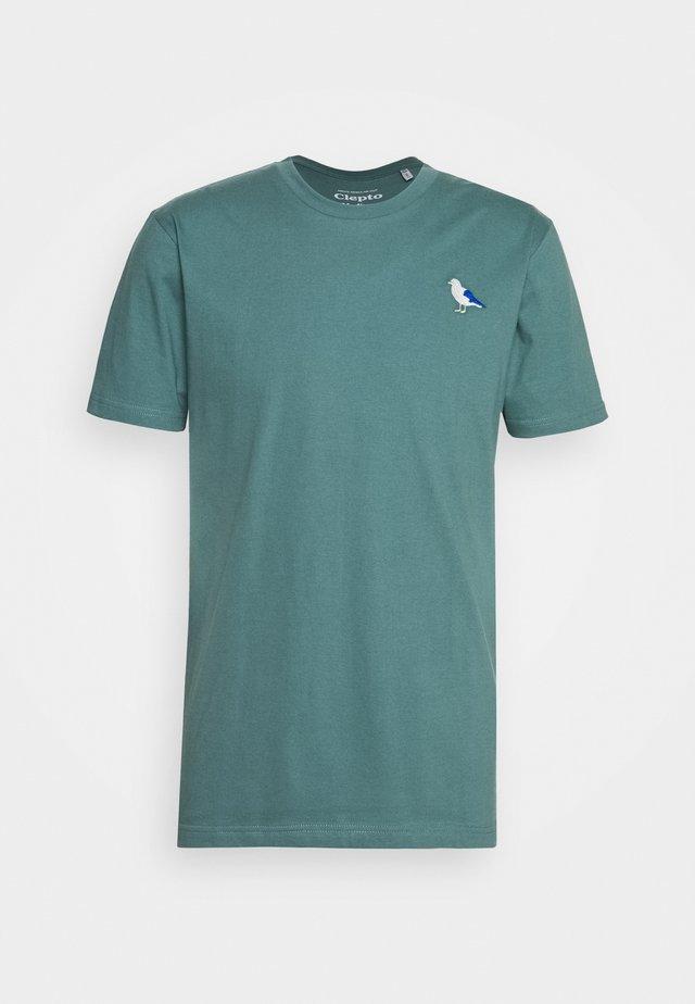 EMBRO GULL - Print T-shirt - north atlantic