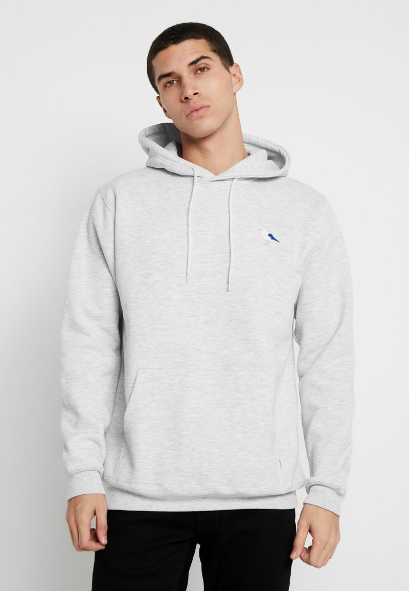 Cleptomanicx - EMBRO GULL - Hoodie - light heather gray
