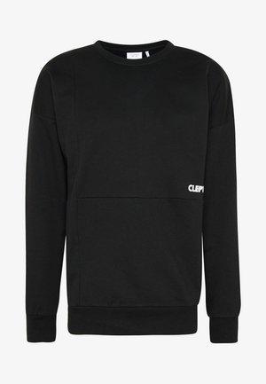 YESTERS - Sweatshirt - black