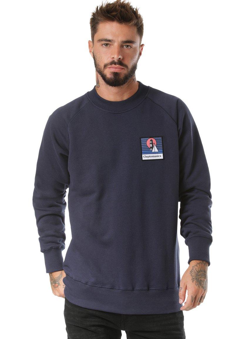 Cleptomanicx - Sweatshirt - blue